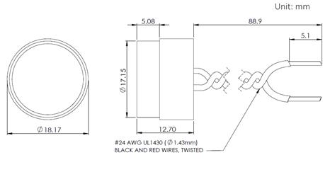 A150A Dimensions