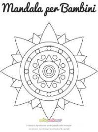 Mandala Facili Da Colorare Art Therapy Colorare Le