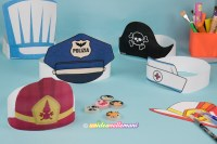 Come costruire tanti cappelli di carnevale diversi di carta