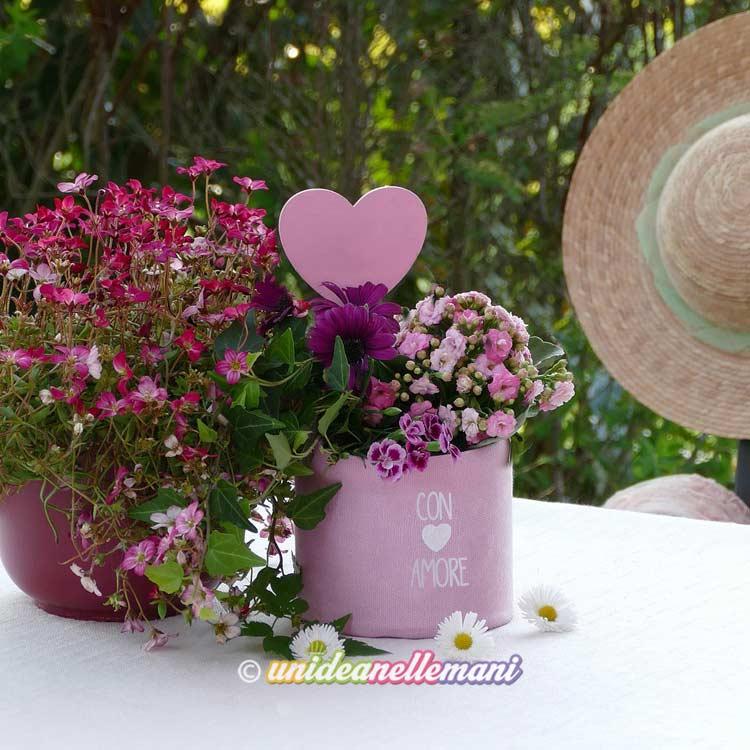 Vasi e contenitori per fiori di design e di alta qualità, molto decorativi e bellissimi sia come contenitori per fiori e piante, artificiali o recisi,. Vasi Fai Da Te Con Materiali Di Riciclo 15 Idee Facili E Creative