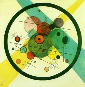 Wassily Kandinsky | cercle dans cercle