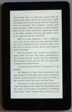 La fameuse Kindle d'Amazon