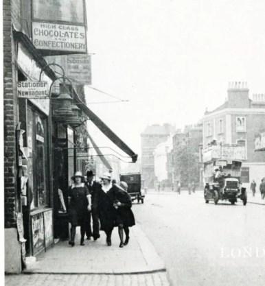 Londres, Hammersmith road en 1920