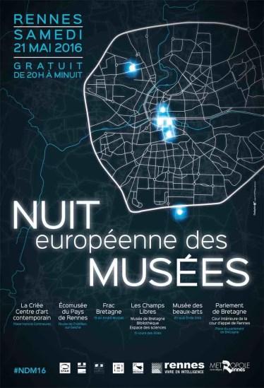 nuit musées 2016 rennes