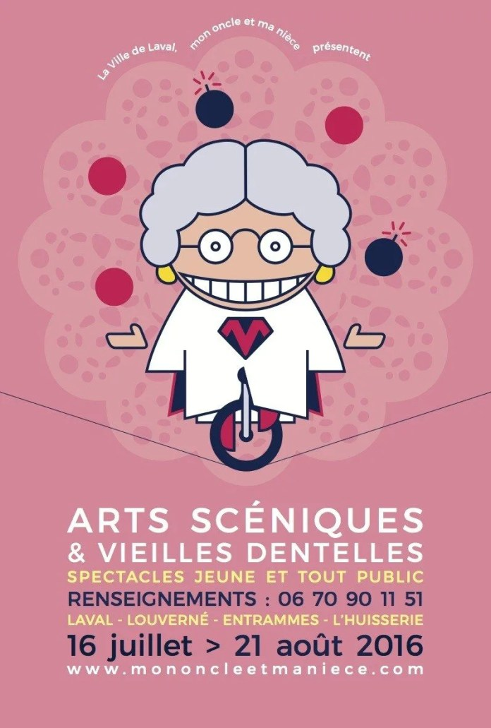 Arts scéniques & Vieilles dentelles Laval Agglo Laval