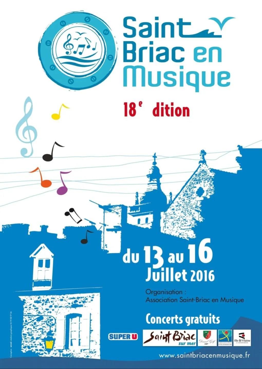 Saint-Briac en musique 2016 Saint-Briac-sur-Mer