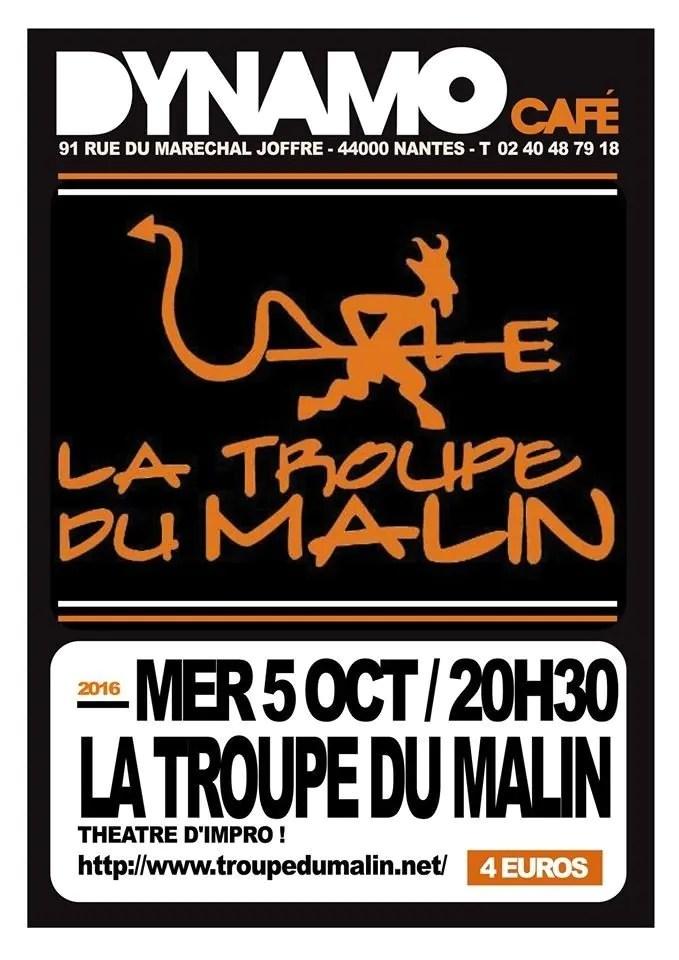 La troupe du Malin Nantes
