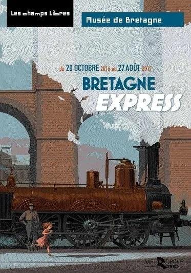 Bretagne Express (visite commentée) Rennes