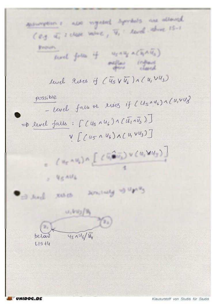 Lecture notes of Logic Control II