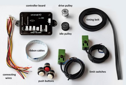 universal A3 DTG Controller Board kit