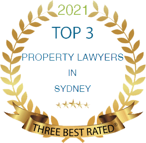 [2021] Top 3 property lawyers sydney