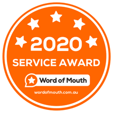 2020 Word of Mouth Service Award