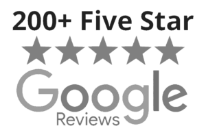 Google 200+ Five Star Reviews