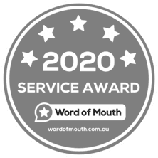 2020 Service Award Word of Mouth