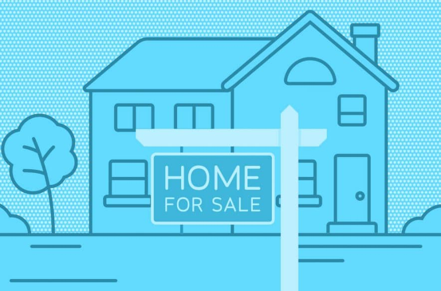 sell a house sign