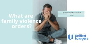 Family Violence Orders Blog featured image