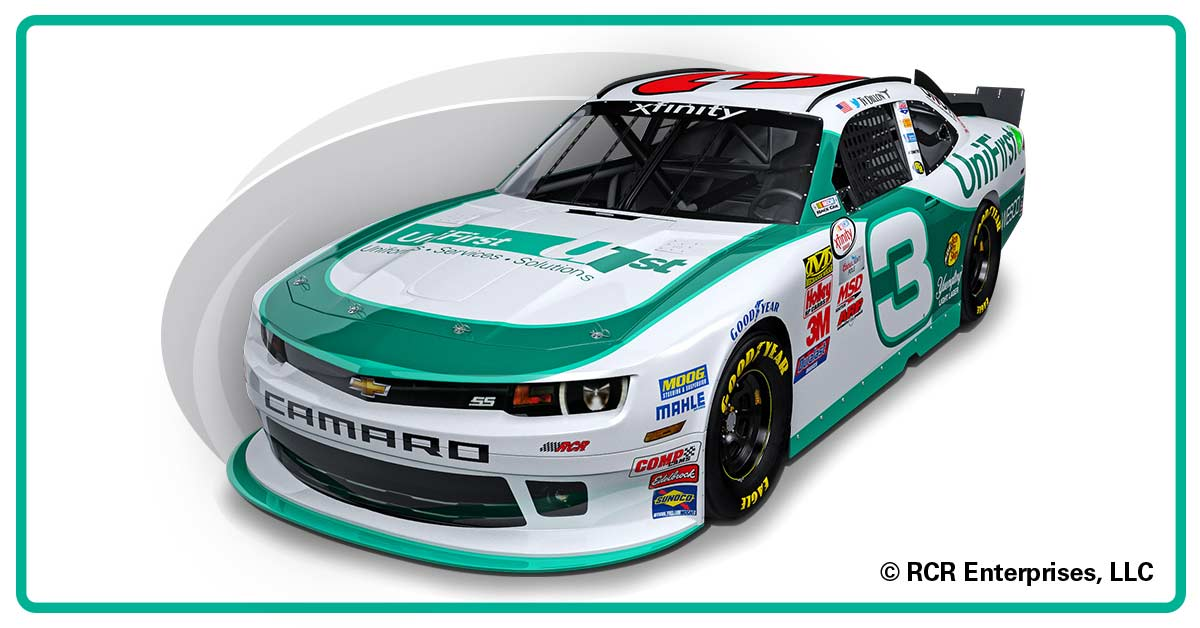 UniFirst Teams with VF Imagewear and Richard Childress Racing in Nascar Xfinity Series