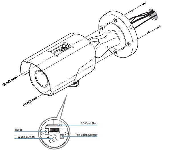 How to install HD IP IR bullet camera?