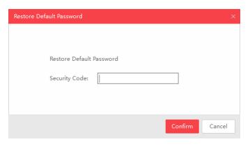 SADP Geri Yükleme Şifre İletişim