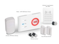 No mouth fee DIY wifi GSM home automation alarm system