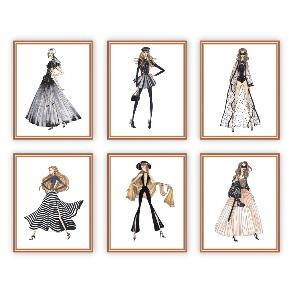 Wall Art For the Fashionista