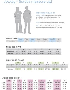 Sizing chart also jockey scrubs men   pocket top stretch uniformsandscrubs rh