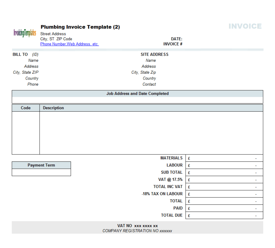 Invoice Detail Hotelinvoice Detail Invoice 11 For Decoration Quotation  Sample