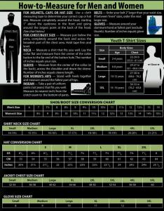 Female sizing size chart more important measurements also info how to measure get the right fit detailed rh uniformspec