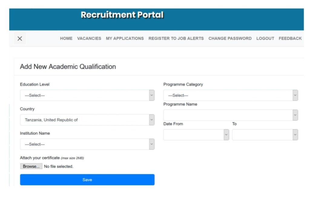 Ajira Portal User Manual