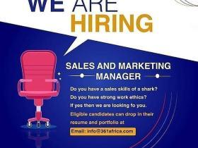 New Job Vacancy At 361 Degrees Africa Ltd