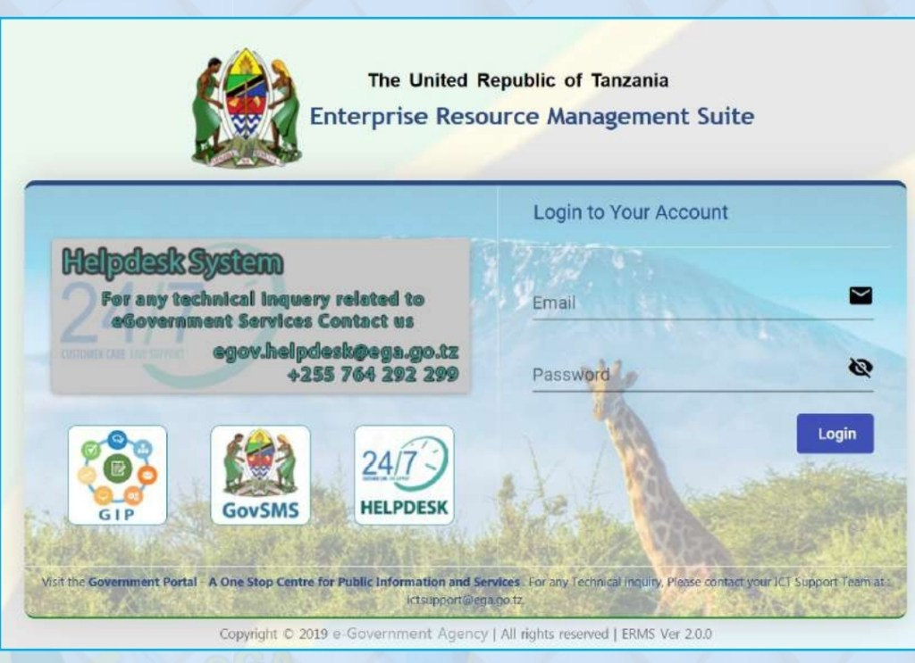 ERMS Login, ERMS System, Enterprise Resources Management Suite
