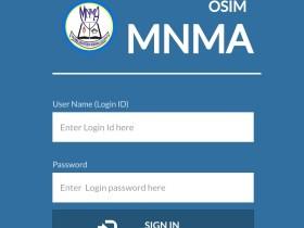 OSIM Login MNMA OSIM Result 2020/2021