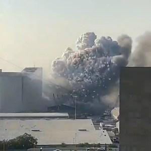 Lebanon Explosion Video, Lebanon Explosion Today, Lebanon Explosion The Way Happened