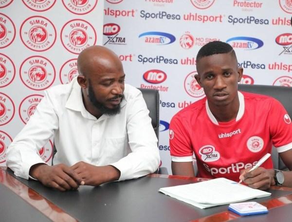 Bwalya Signed By Simba Sports Club 2020