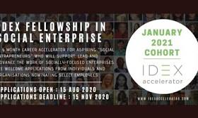 Idex Fellowship 2021 In Social Enterprise