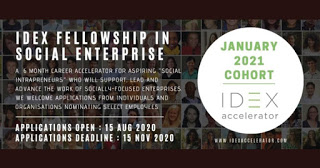 Idex Fellowship 2021 In Social Enterprise