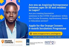 Orange Corners Nigeria Incubation Programme 2021