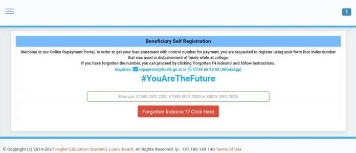 HESLB Loan Statement - Online Loan Repayment