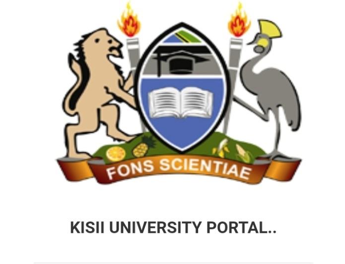 Kisii University Student Portal (Login & Register)