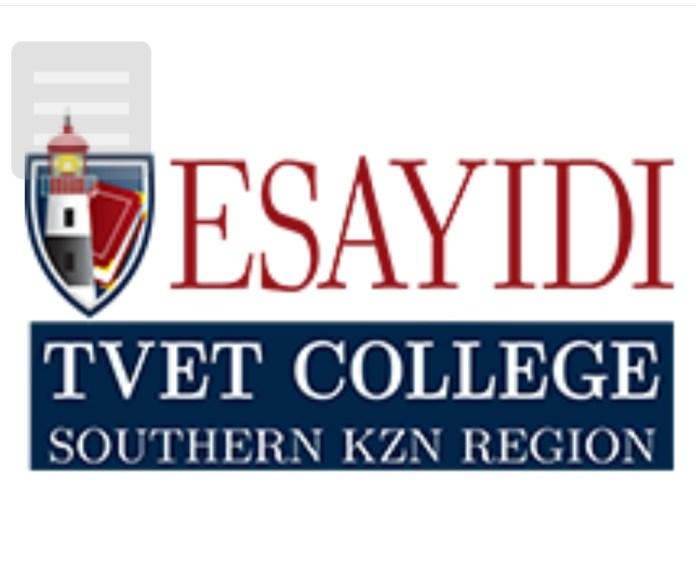 Esayidi TVET College Online Application 2022/2023