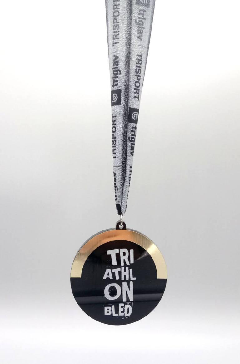 Unikatna medalja za Triatlon Bled