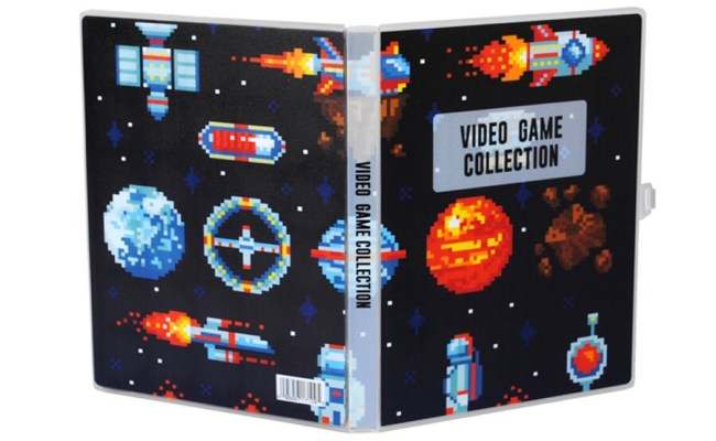 Video Game Collection Mini Binder Free Shipping Over 49