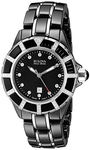 #Bulova Accu Swiss Women's 65R156 Diamond Black Watch https://t.co/nDOsrk49Gs...