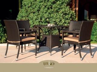 Set di tavolino e sedie in metallo: Tavoli E Sedie Da Giardino Di Design Per Arredi Outdoor Di Qualita