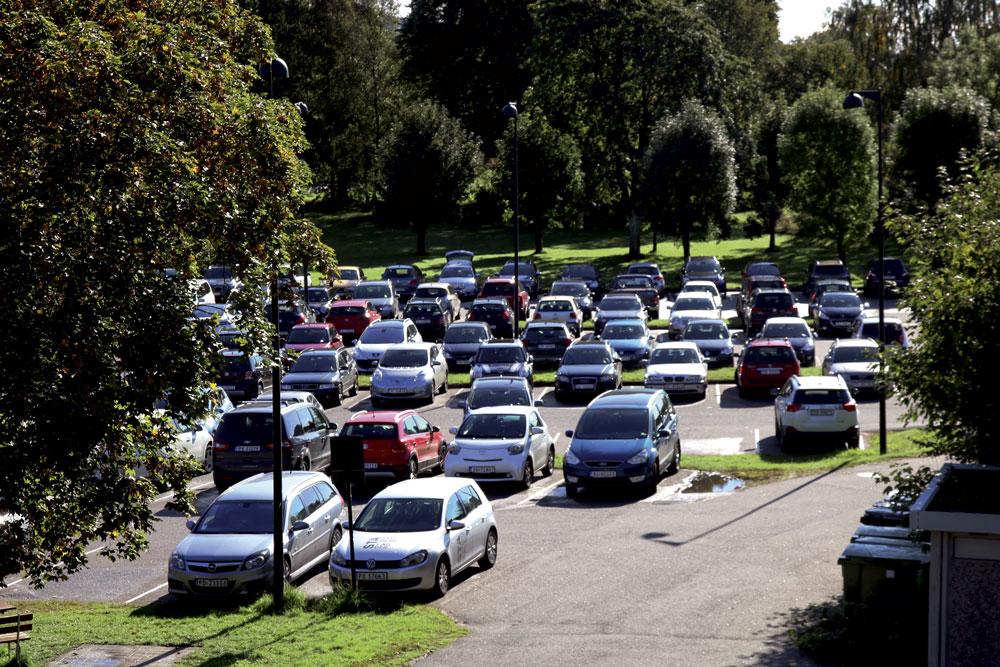 Parkeringsavgift på plass