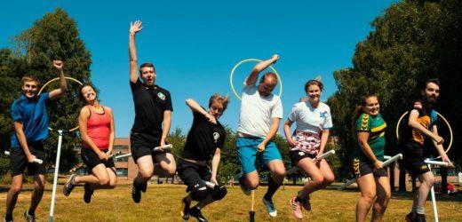 Studenter fra hele landet møtte opp til KSIs rumpeldunkleir