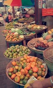 Fruktmarkedet i Nicaragua