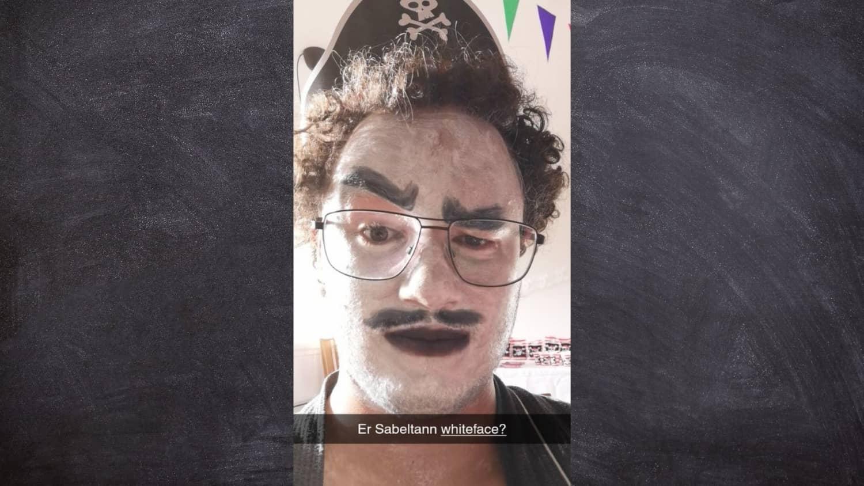 Er Sabeltann whiteface? Foto: Adrian McAllister