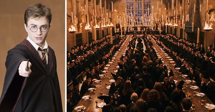 Harry Potter Fans Can Actually Dine In The Great Hall This