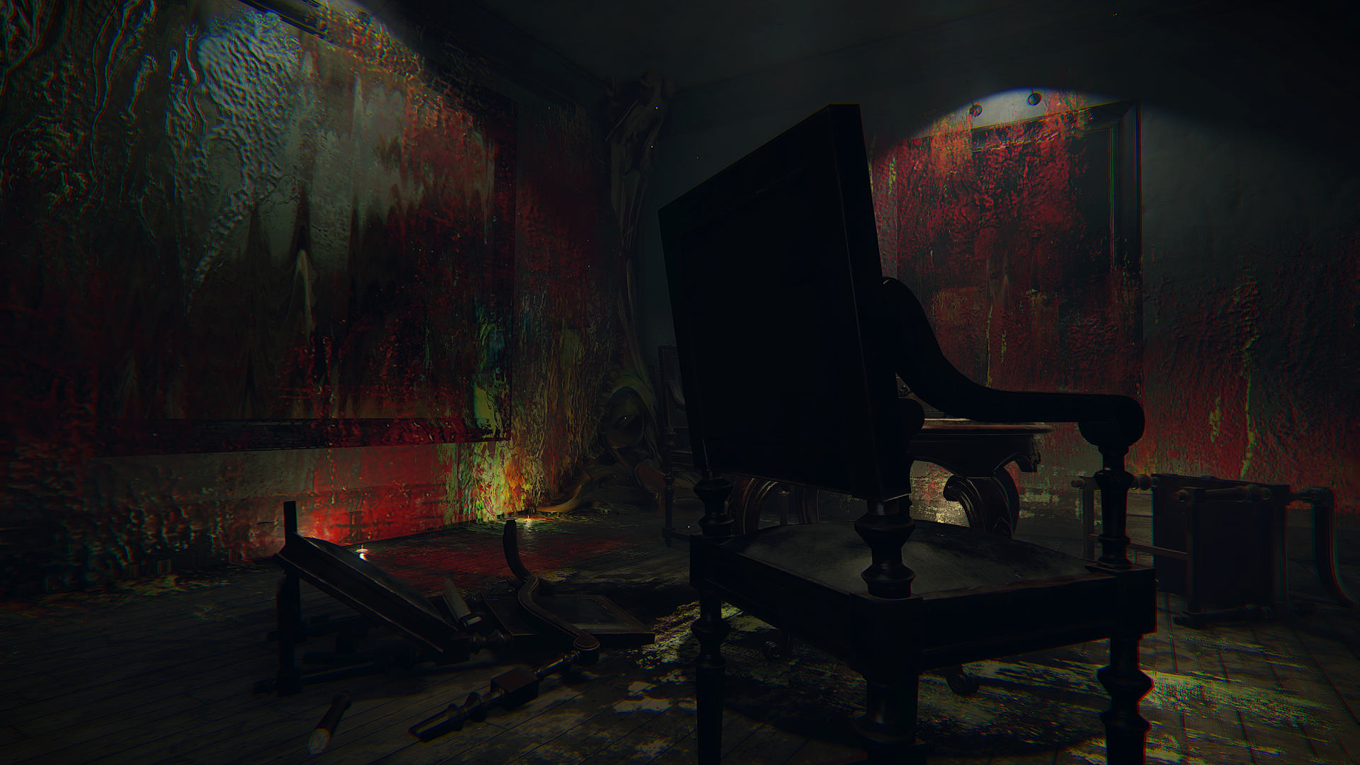 P T Inspired Layers Of Fear Gets Release Date Looks